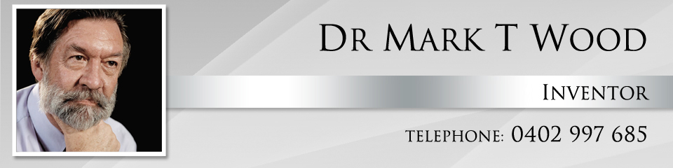 Dr Mark T Wood - Inventor